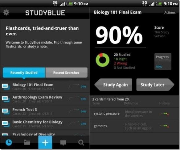 Studyblue Flashcards