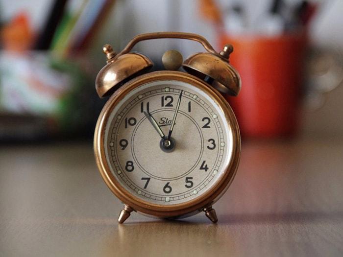 Hãy đảm bảo bạn luôn đúng giờ