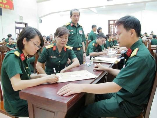 Những điều cần biết khi dự thi khối trường Quân đội