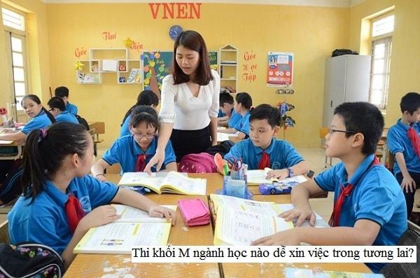 Ngành học giáo dục tiểu học là ngành học thi khối M triển vọng nghề nghiệp trong tương lai