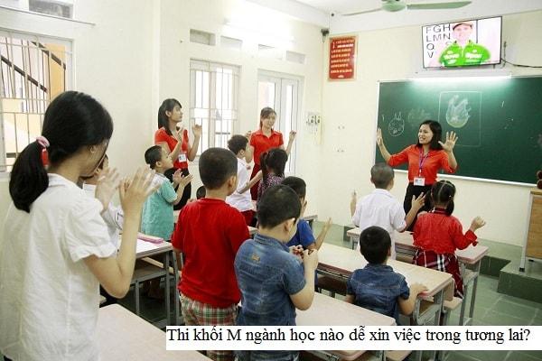 Ngành học giáo dục đặc biệt là ngành học đang hiếm giáo viên chính vì thế cơ hội việc làm rất cao khi ra trường