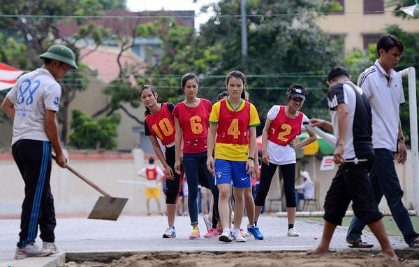 Môn thi năng khiếu ở trường ĐH Thể dục Thể thao Bắc Ninh tùy thuộc vào từng chuyên môn