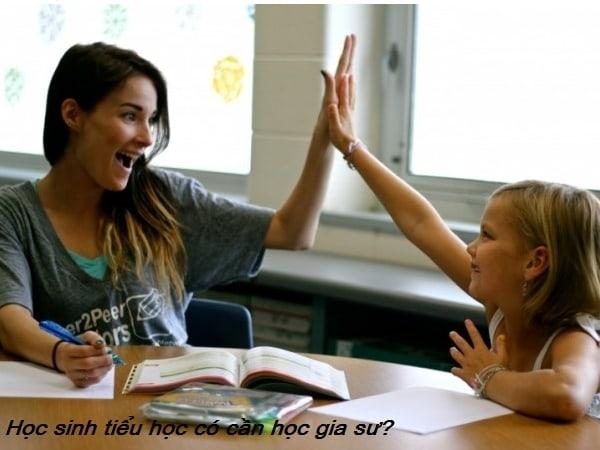 Trẻ tiểu học đã cần học thêm gia sư hay chưa? 3