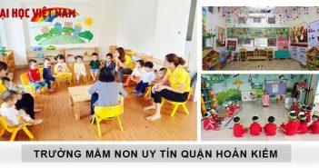 Trường mầm non uy tín quận Hoàn Kiếm