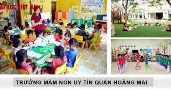 Trường mầm non ở Hoàng Mai tốt