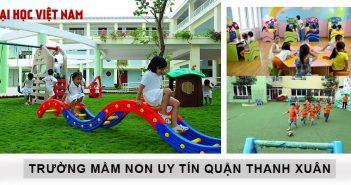 Trường mầm non tốt quận Thanh Xuân