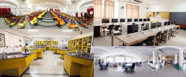 Cơ sở vật chất hiện đại tạo điều kiện thuận lợi nhất cho việc đào tạo
