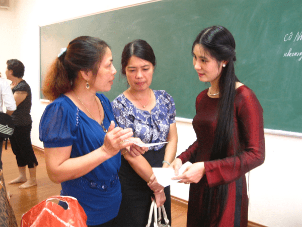 Chuẩn tác phong sư phạm, phong thái trong cách cư xử, giao tiếp là điều tất cả giáo viên cần có