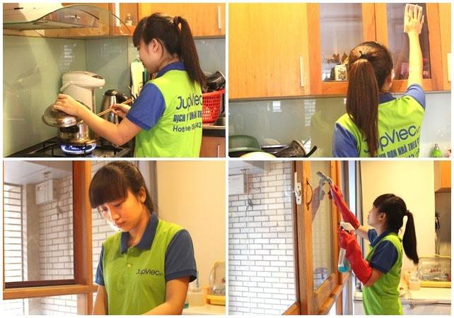 Sinh viên giúp việc nhà theo giờ