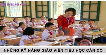 Kỹ năng quan trọng cần có ở giáo viên tiểu học
