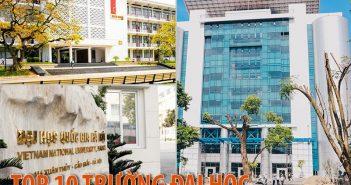 Top 10 trường đại học tốt nhất ở Hà Nội năm 2017