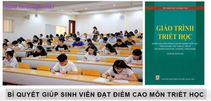 Bí quyết giúp sinh viên đạt điểm cao môn Triết