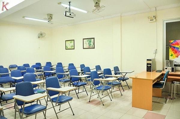 Phòng học tiêng Hàn tại trung tâm đào tạo