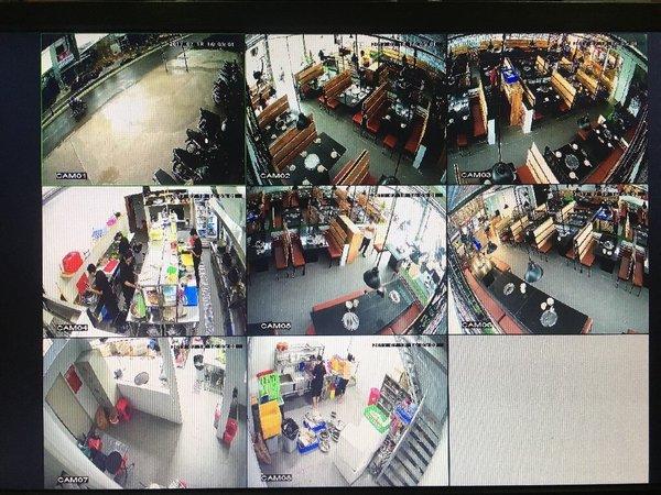 Giám sát hệ thống camera ở các trung tâm thương mại, siêu thị lớn