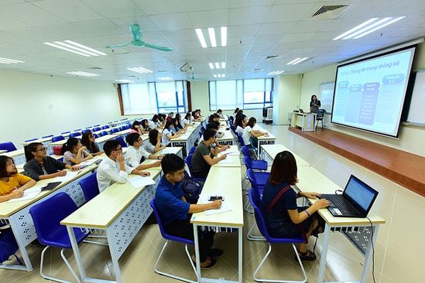 Khu giảng đường mới còn được các bạn sinh viên ví như lớp học sang chảnh ở Hàn Quốc