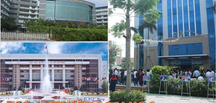 Top 10 trường Đại học tốt nhất ở thành phố Hồ Chí Minh năm 2017
