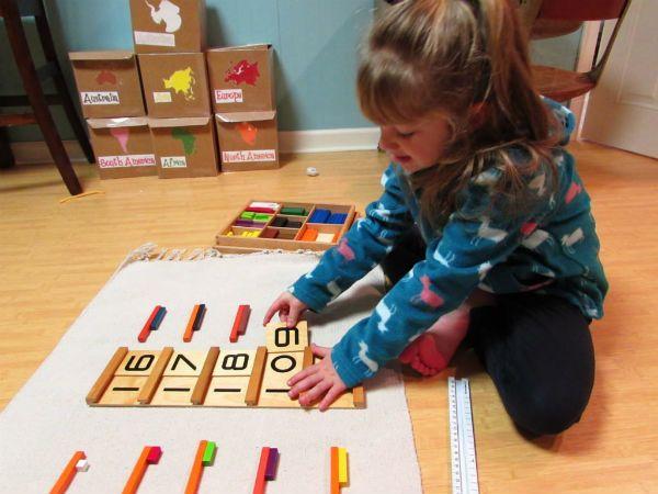 Cho trẻ làm quen với toán