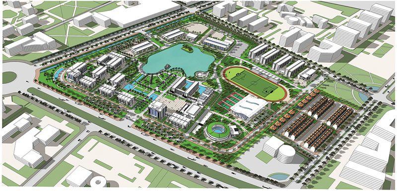 Cơ sở 2 trường ĐHXD tại Hà Nam