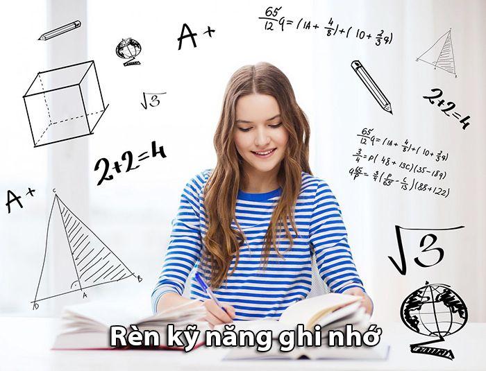 Cần rèn luyện kỹ năng ghi nhớ cho bộ não