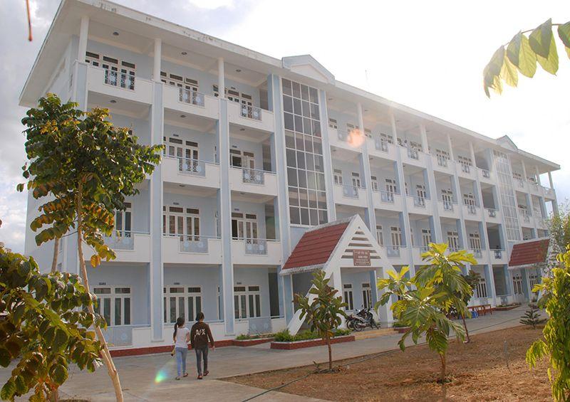 Một ký túc xá mới xây dựng của trường đại học