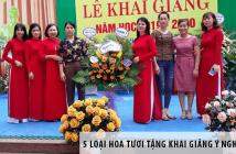 5 loại hoa tươi tặng khai giảng ý nghĩa nhất