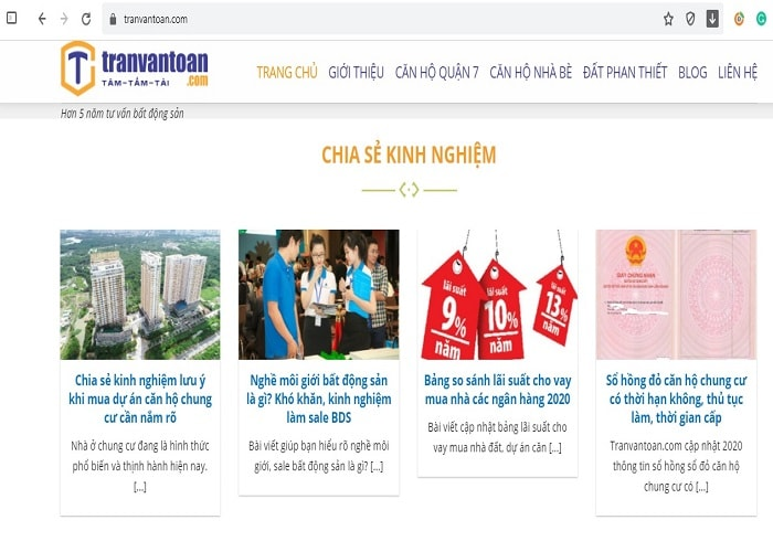 Blog Tranvantoan.com