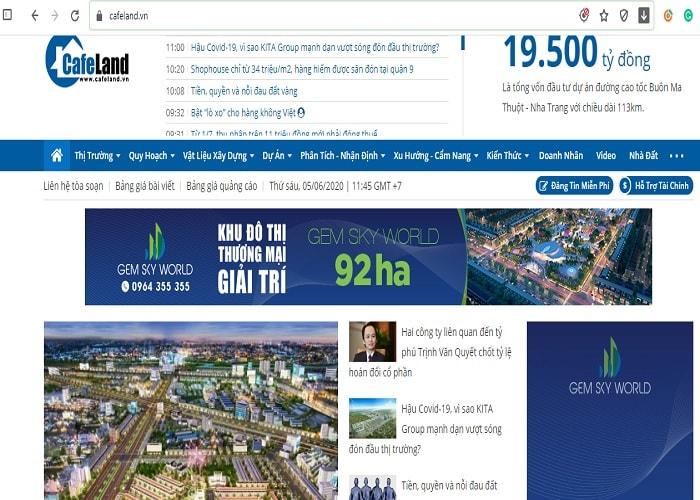 Blog Cafeland.vn