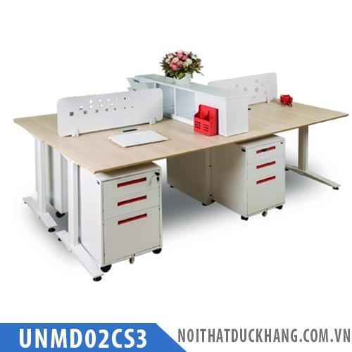 Module bàn làm việc 4 người UNMD02CS3