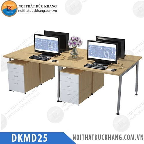 Module bàn làm việc 4 người DKMD25