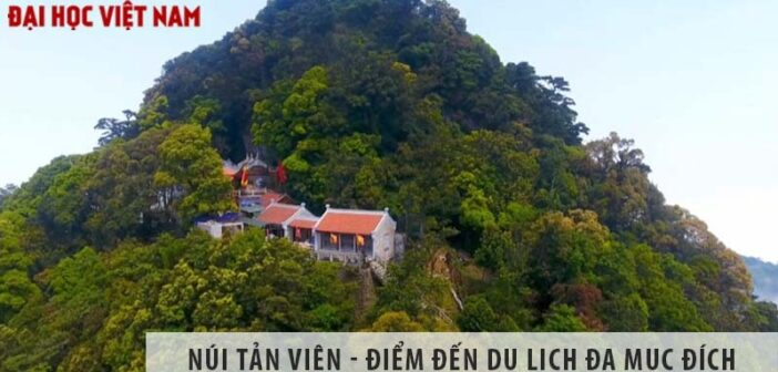 Núi Tản Viên - điểm đến du lịch đa mục đích ngay gần Hà Nội